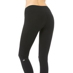 Alo Yoga Leggings Black Size Small Eye Design